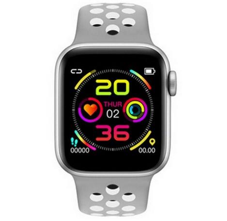Ceas Smartwatch Techstar® W5 Argintiu, 1.54 inch IPS, Monitorizare Cardiaca, Tensiune, Sedentarism, Bluetooth 4.2 poza 2021