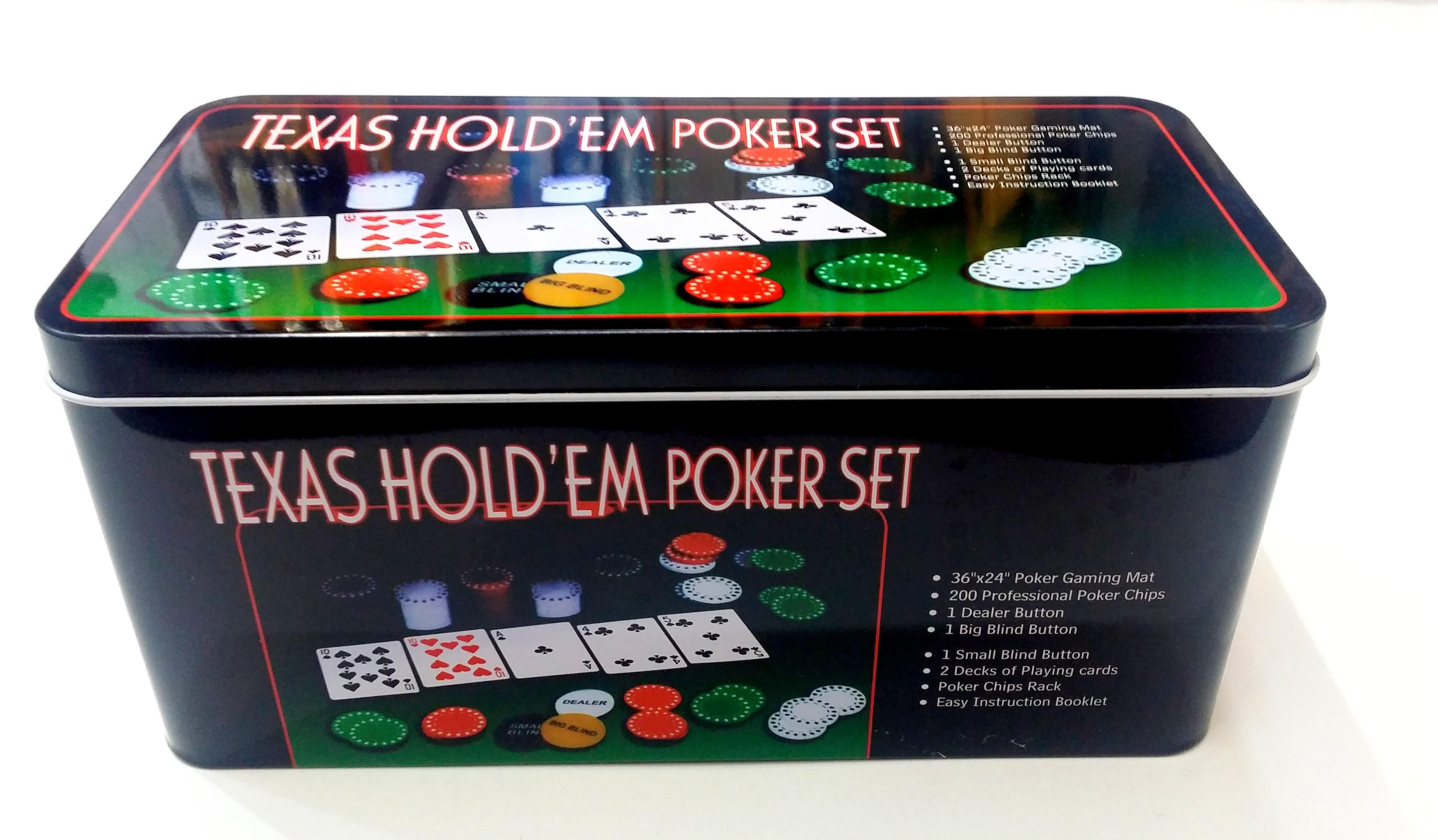 Set Poker Texas 1002 imagine techstar.ro 2021