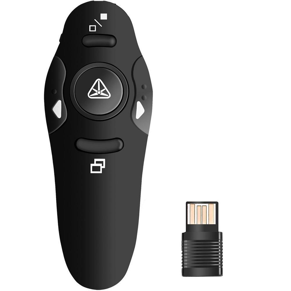 Telecomanda Wireless Techstar pentru Prezentare, cu pointer Laser, Butoane SlideShow, USB imagine techstar.ro 2021