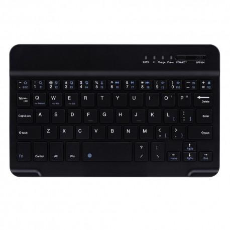 Tastatura Wireless Techstar®, Bluetooth 3.0, Acumulator, Compatibila Android/Windows/Mac, Slim