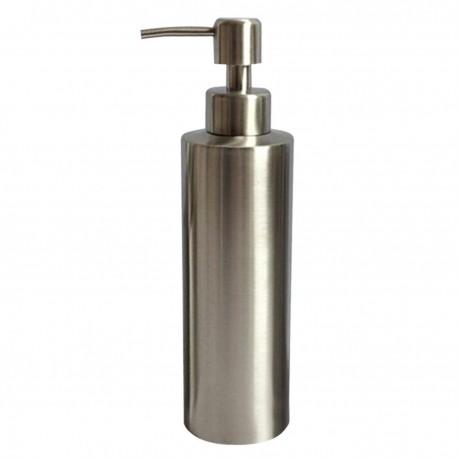 Dozator de Sapun Lichid Argintiu 350ml pentru Baie/Bucatarie