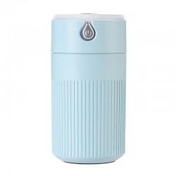 Umidificator Techstar® cu iluminare LED, Aromaterapie, Pentru Casa, Birou, 420ml, ALBASTRU