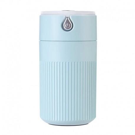 Umidificator Techstar® cu iluminare LED, Aromaterapie, Pentru Casa, Birou, ALBASTRU