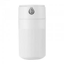 Umidificator Techstar® cu iluminare LED, Aromaterapie, Pentru Casa, Birou, 420ml, ALB
