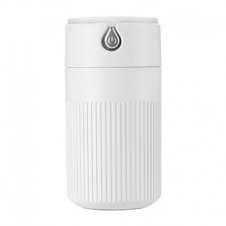 Umidificator Techstar® cu iluminare LED, Aromaterapie, Pentru Casa, Birou, ALB