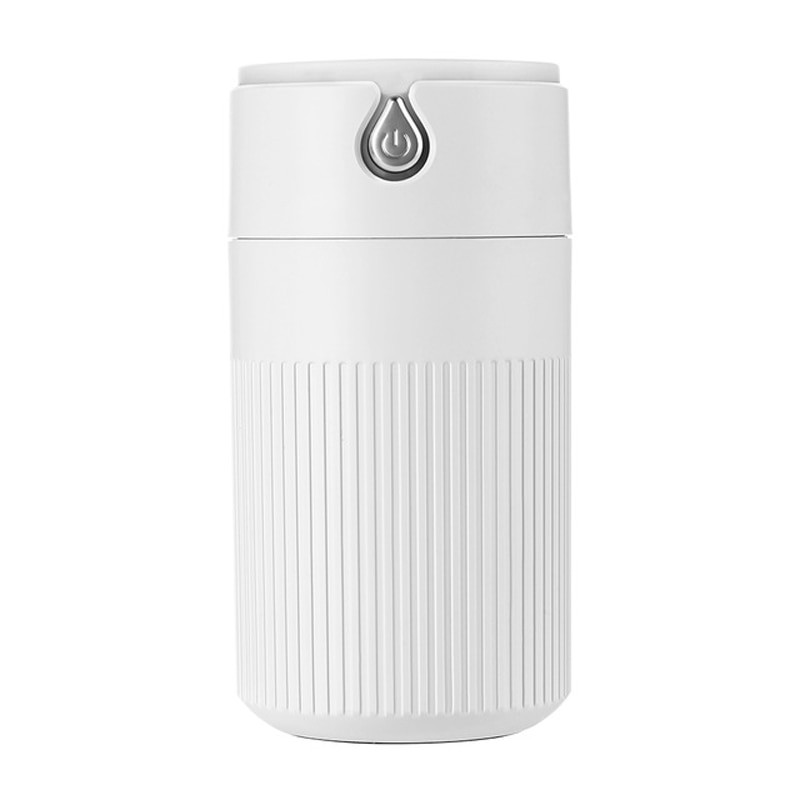 Umidificator Techstar® cu iluminare LED, Aromaterapie, Pentru Casa, Birou, 420ml, ALB imagine techstar.ro 2021