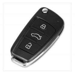 Carcasa Cheie Auto Techstar® Audi A4, A3, A6, A8, TT, Q7, 3 Butoane