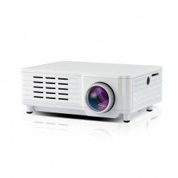 Videoproiector Mini Portabil cu Led ML205 White cu Audio Incorporat Compatibil HDMI, USB, SD si TV Resigilat