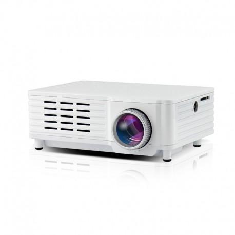 Videoproiector Mini Portabil cu Led ML205 White cu Audio Incorporat Compatibil HDMI, USB, SD si TV Resigilat