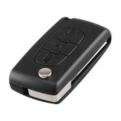 Carcasa Cheie Auto Techstar® Peugeot, Citroen, 207,307, 407, C2, C3, C4, C5, C6, C8, cu 3 Butoane, HU83, CE0536