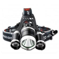 Lanterna Frontala WDX07 cu Acumulatori inculsi 20W 1400 lumeni