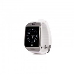 Smartwatch Vogue Q18 Curved cu Camera si Telefon 3G Alb Resigilat