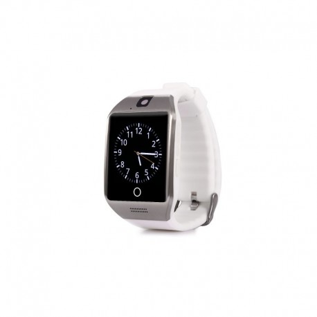 Smartwatch Vogue Q18 Curved NFC cu Camera si Telefon 3G Alb Resigilat