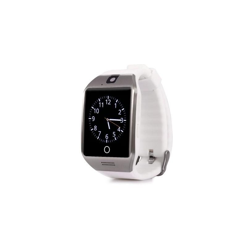 Smartwatch Vogue Q18 Curved cu Camera si Telefon 3G Alb Resigilat