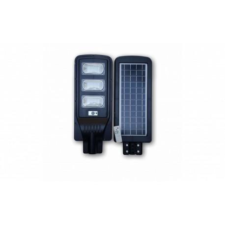 Proiector cu panou solar 90W senzor de lumina si telecomanda
