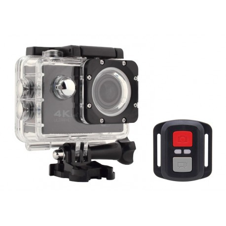 Camera Video Sport ActionCam R12H 4K @30fps cu Telecomanda 2.4G RESIGILAT