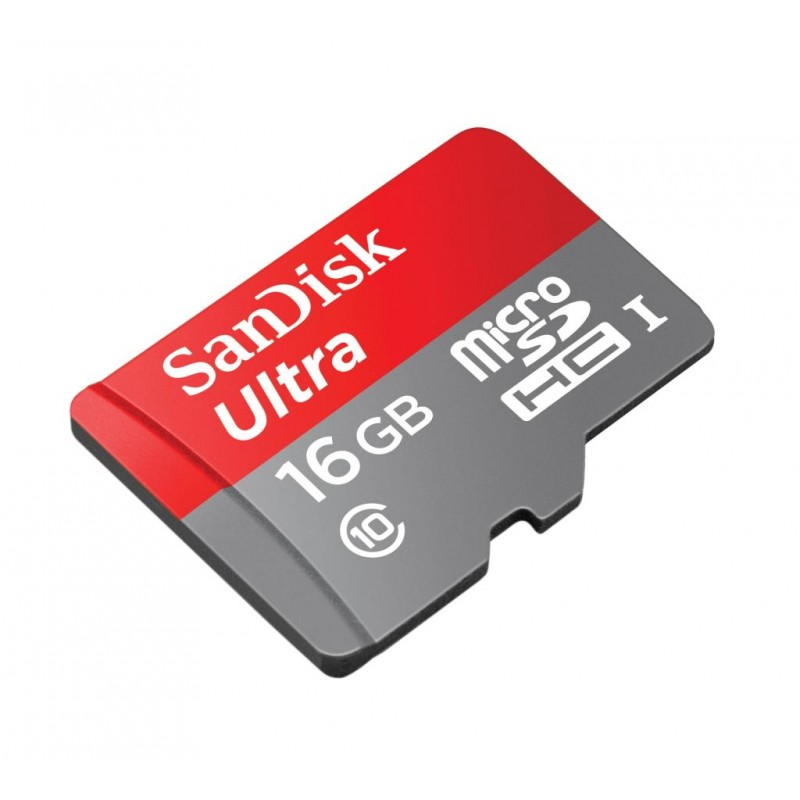 card microsd sandisk class10 cu adaptor 16gb. Black Bedroom Furniture Sets. Home Design Ideas