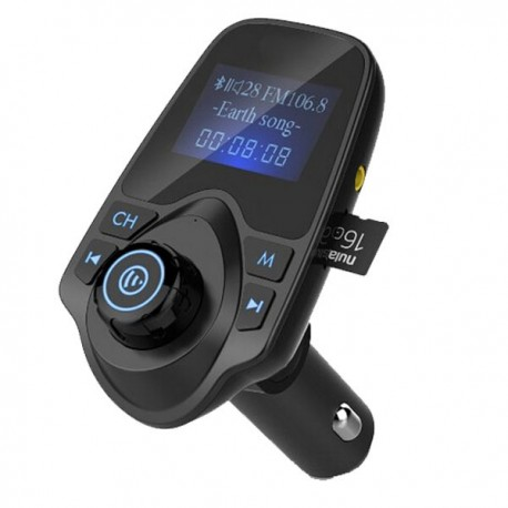 Transmitator FM Hands Free T11 cu Bluetooth, USB si MicroSD