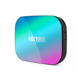 TV Box Techstar® HK1 BOX, Android 9.0, UltraHD 8K, 4K@ 60fps, 4GB RAM, 32GB ROM, 5G WiFi, Bluetooth 4.0, Cu IPTV, Model 2020
