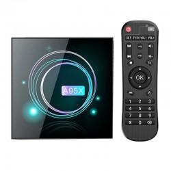 Smart TV Box Mini PC Techstar® A95X F3 Slim, Android 9, 2GB RAM, 16GB ROM, 8K, Bluetooth, WiFi 5G, RJ45