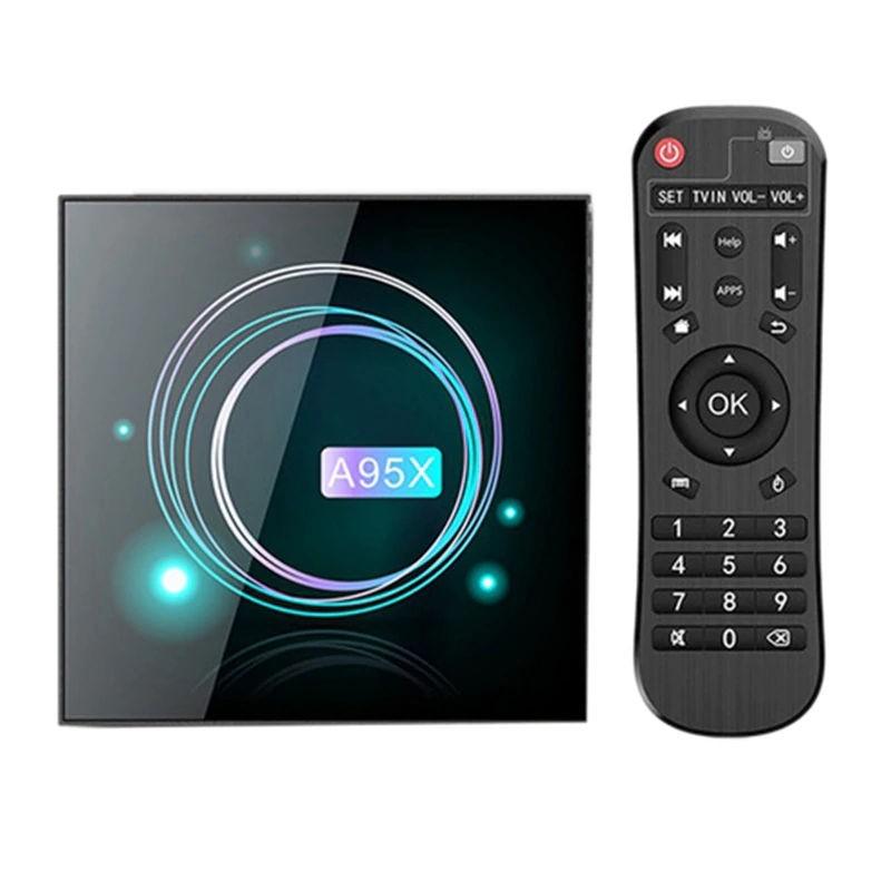 Smart TV Box Mini PC Techstar® A95X F3 Slim, Android 9, 2GB + 16GB ROM, 8K Bluetooth,WiFi 5G, RJ45 imagine techstar.ro 2021