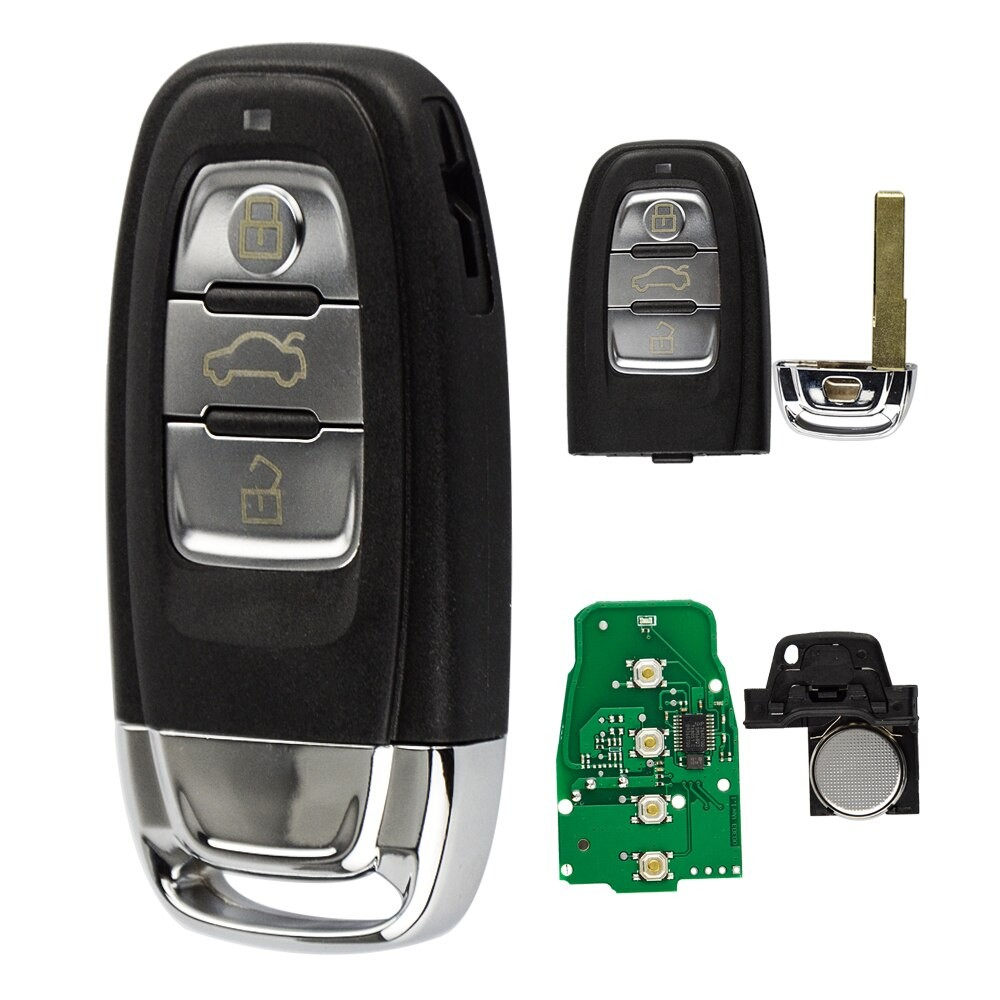 Cheie Auto Completa Techstar® Audi A4L/Q5, 3 Butoane, 8TO959754C, 868Mhz imagine techstar.ro 2021