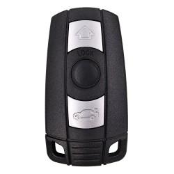 Cheie Auto Completa Techstar® BMW, Seria 1/3/5/X, CAS3, 868Mhz, 3 Butoane, Keyless, 2 Track