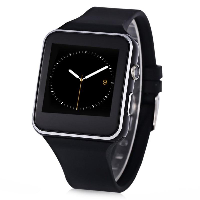 Smartwatch X6S Bluetooth Compatibil MicroSD si SIM Cu Camera Negru Resigilat poza 2021