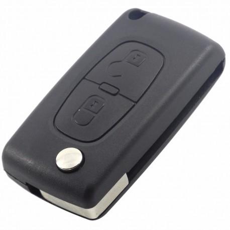 Cheie Auto Completa Techstar® Peugeot, 407, 408, 307, 207, ID46, Lama VA2, 433Mhz 7961