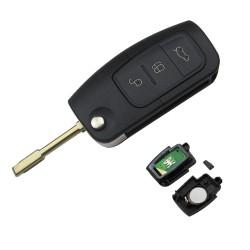 Cheie Auto Completa Techstar® Ford, Focus, Fiesta, Mondeo, 4D60, 433Mhz, FO21, 3 Butoane