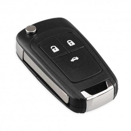 Cheie Auto Completa Techstar® Opel, Astra, Zafira, Insignia, Mokka, 433Mhz, ID46, 3 Butoane