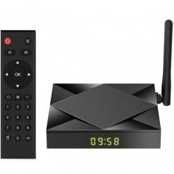 Smart TV Box Mini PC Techstar® TX6S, Android 10, 4GB + 32GB ROM, 8K HDR ,WiFi 5GHz, Allwinner H603