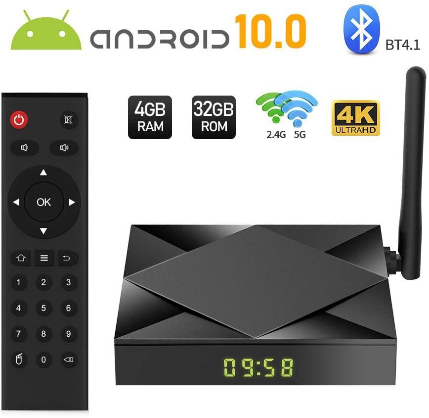 Smart TV Box Mini PC Techstar® TX6S, Android 10, 4GB + 32GB ROM, 8K HDR ,WiFi 5GHz, Allwinner H603 imagine techstar.ro 2021