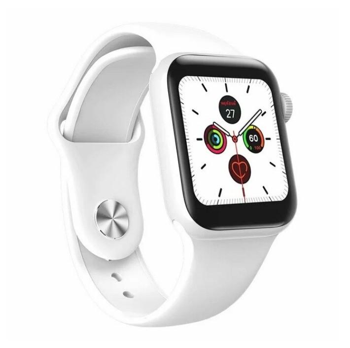 Ceas Smartwatch Techstar® W58Pro Alb, 1.3 inch IPS, Monitorizare Temperatura, Sedentarism, Bluetooth, IP65 poza 2021