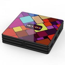 Smart TV Box Mini PC Techstar® HK1 Cool, Android 9, 2GB + 16GB ROM, 4K HDR ,WiFi 5GHz, AV, USB 3.0, RK3318