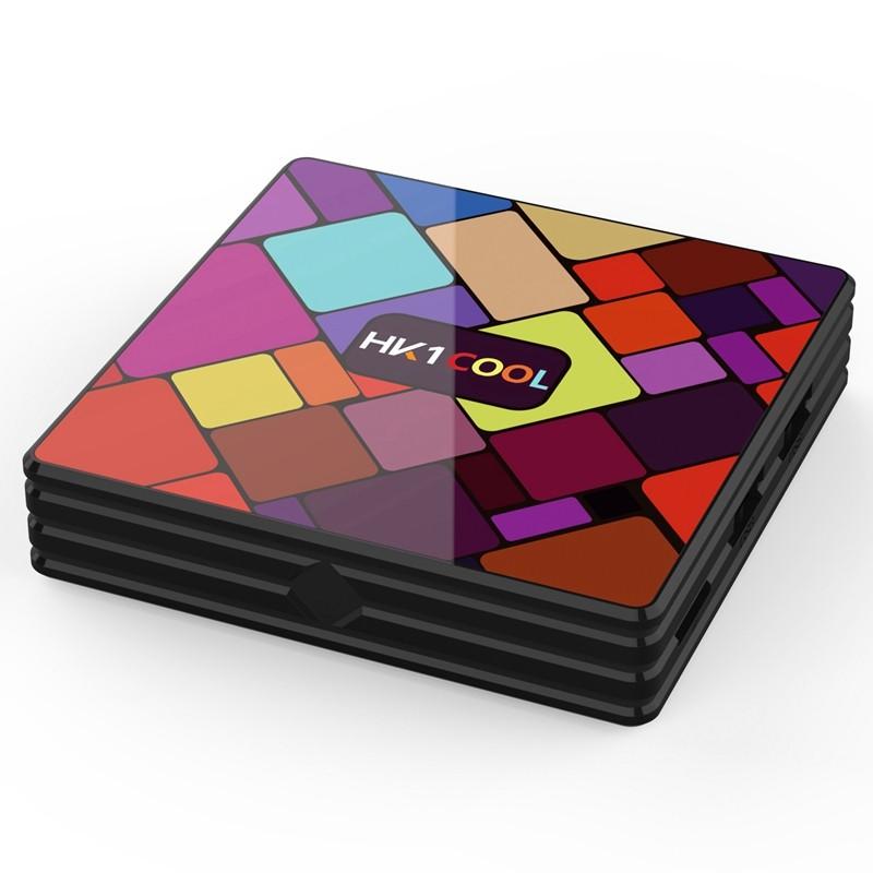 Smart TV Box Mini PC Techstar® HK1 Cool, Android 9, 2GB + 16GB ROM, 4K HDR ,WiFi 5GHz, AV, USB 3.0, RK3318 imagine techstar.ro 2021