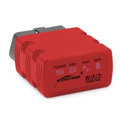 Diagnoza OBD2 KONNWEI KW902, Red, WiFi, iOS, Android, PC, ELM 327 OBDII, PIC18F25K80
