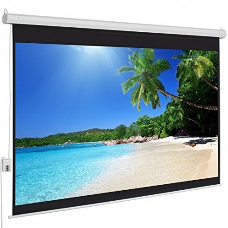Ecran Electric pentru Proiectii Video 4:3 235x132 cm diagonala 254 cm