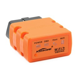 Diagnoza OBD2 KONNWEI KW902, Orange, WiFi, iOS, Android, PC, ELM 327 OBDII, PIC18F25K80