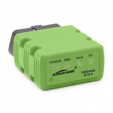 Diagnoza OBD2 KONNWEI KW902, Green, Bluetooth, Android, PC, ELM 327 OBDII, PIC18F25K80