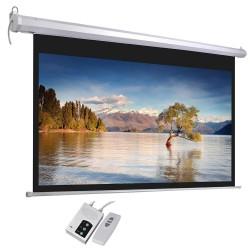 Ecran Electric pentru Proiectii Video 16:9, 203.2x114.3 cm, diagonala 233.68 cm