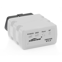 Diagnoza OBD2 KONNWEI KW902, White, Bluetooth, Android, PC, ELM 327 OBDII, PIC18F25K80