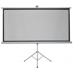 Ecran Proiectie cu Trepied, Format 16:9, Diagonala 213.36 cm pentru Videoproiector sau Home Cinema