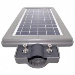 Lampa Stradala Tip Led 60w Cu Panou Solar, Acumulator, Senzor De Miscare