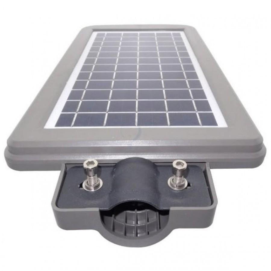 Lampa Stradala Tip Led 60w Cu Panou Solar, Acumulator, Senzor De Miscare imagine techstar.ro 2021