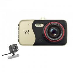 Camera Video Auto Dubla Novatek T810 FullHD Cu Functia WDR Si Ecran IPS Resigilata