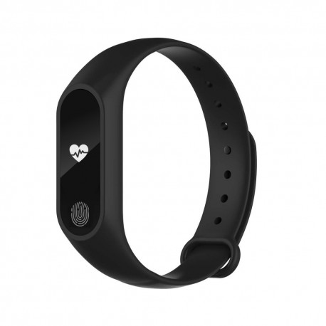 Bratara Fitness Techstar® M2 Negru, 0.42 inch OLED, Alerte, IP67, Monitorizare Cardiaca, IP65, Bluetooth 4.0