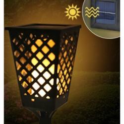 Felinar Solar care imita flacara