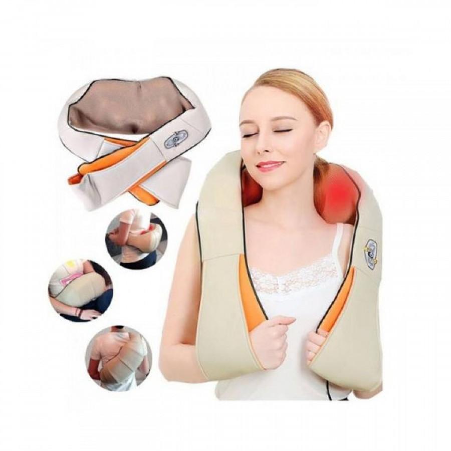 Aparat pentru masaj cervical Shiatsu, cu functie de incalzire
