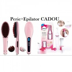 Perie indreptat parul si Epilator 5 in 1 Cadou